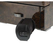 Load image into Gallery viewer, DUAL AUTOMATIC WATCH WINDER DARK BURL WOOD FINISH TOWER SERIES BY AEVITAS - Winder World