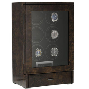 Aevitas 6 Watch Winder Dark Burl