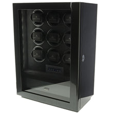 Load image into Gallery viewer, 9 Watch Winder for Automatic Watch Carbon Fibre Finish the Classic Collection by Aevitas