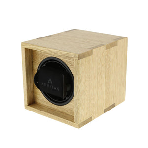 Solid Idigbo Hard Wood Watch Winder for 1 Watch in  Manufactured in the UK by Aevitas - Winder World