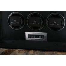 Load image into Gallery viewer, 9 Watch Winder for Automatic Watch Dark Burl Wood Finish the Classic Collection by Aevitas - Winder World