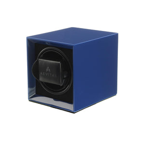 Watch Winder for 1 Automatic Watch in Blue Mains or Battery by Aevitas