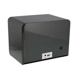 Aevitas Carbon Fibre 2 Watch Winder Back