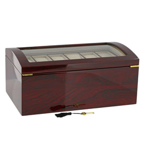 RoseWood Watch Collector Box for 24 watches by Aevitas - Winder World