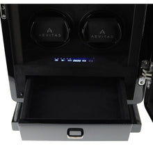 Load image into Gallery viewer, 6 Watch Winder for Automatic Watch Carbon Fibre Finish the Classic Collection by Aevitas