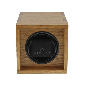 Aevitas Watch Winder Solid Oak made in the UK - Winder World