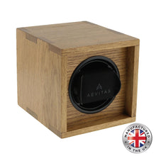 Load image into Gallery viewer, Aevitas Watch Winder Solid Oak made in the UK - Winder World