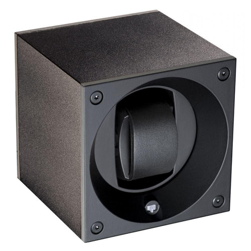 Swiss Kubik Masterbox Aluminium Collection Watch Winder Black sk01-ae001 - Winder World