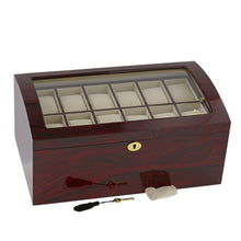 Load image into Gallery viewer, RoseWood Watch Collector Box for 24 watches by Aevitas - Winder World