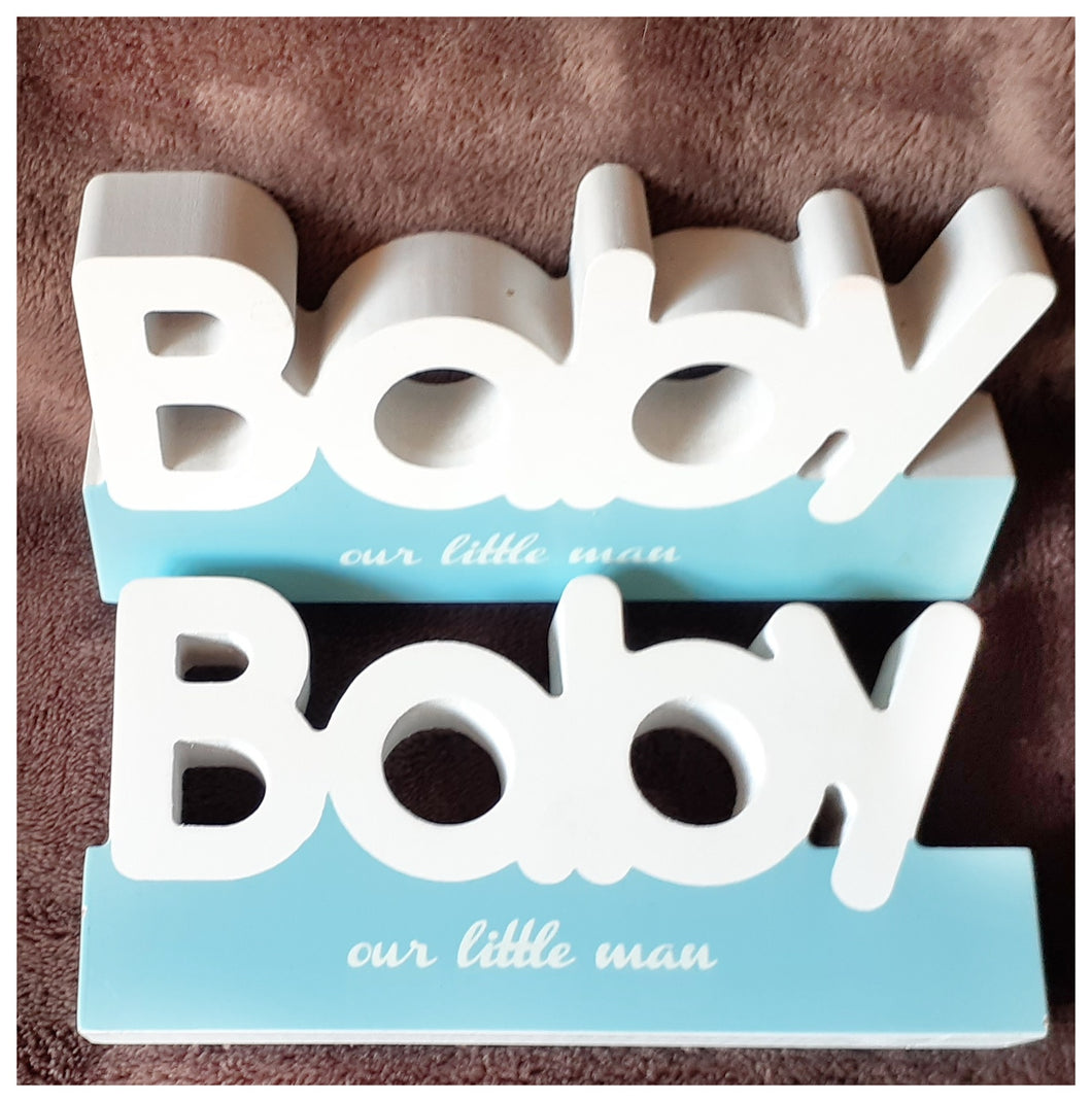 Baby Boy decor