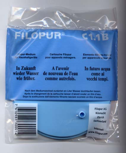 Filopur C1 Replacement Filter (For Standard model HU-ST)