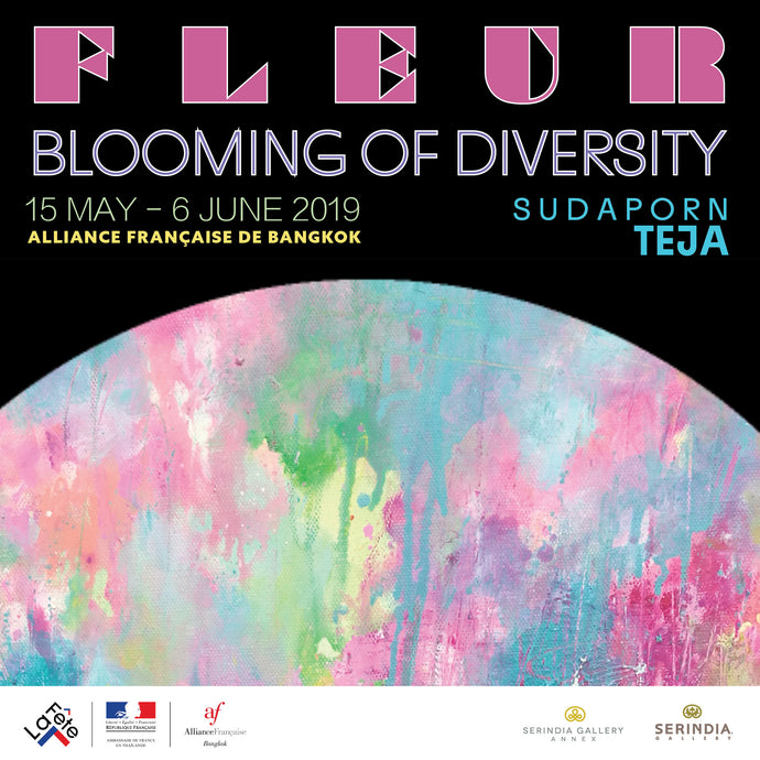 FLUER: Blooming of Diversity by Sudaporn Teja at Alliance Française Bangkok