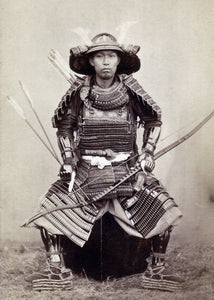 Portrait of a Samurai, c. 1872 by 上野彦馬  UENO Hikoma