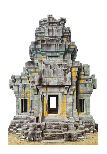 Northwest Tower of Ta Keo, Angkor, Cambodia by Robert Powell