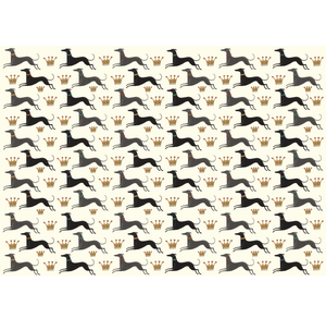 Dog & Dome Wrapping Paper