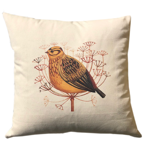 Mellow Yellowhammer Cushion