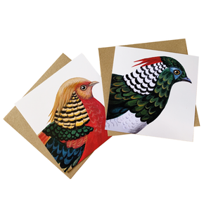 Fabulous Pheasant Set of 6 Cards