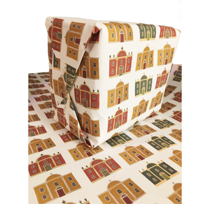 Bespoke House Wrapping Paper by Dog & Dome