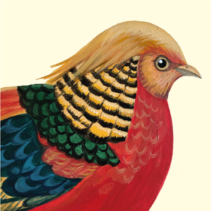 'Golden Pheasant: Trump of the Bird World' Notebook