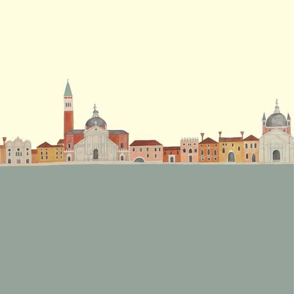'Domes and Doorways: San Giorgio Maggiore' Notebook