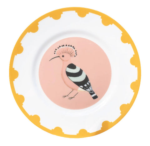 Set of Four Hooray for the Hoopoe Plates