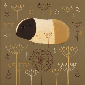 Sauntering through the Seedheads print by Catriona Hall