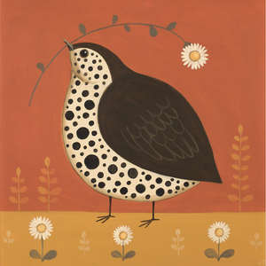 Dalliance with a Daisy Catriona Hall print