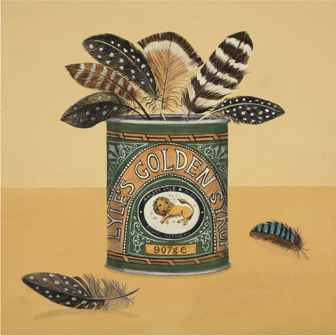 Golden Syrup Catriona Hall print