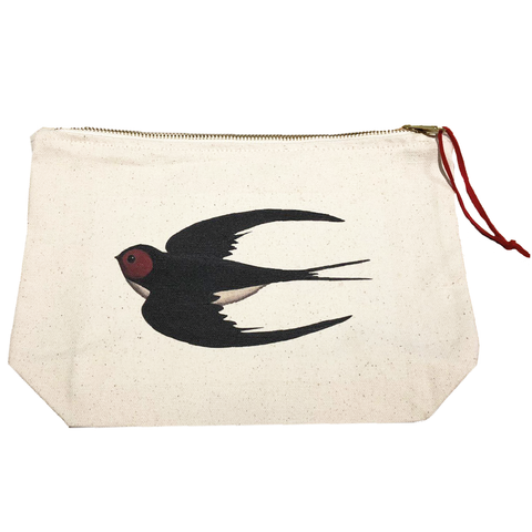 Swooping Swallow Wash Bag