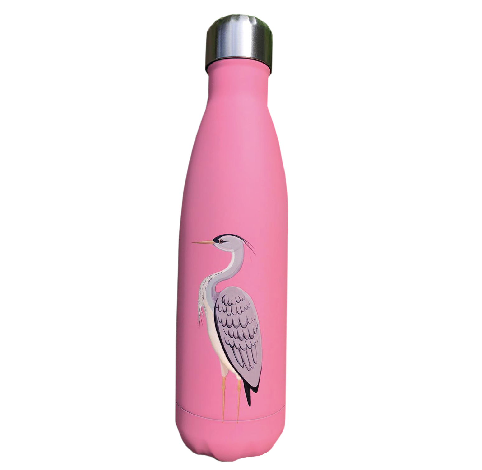 Pink Heron Eco Bottle