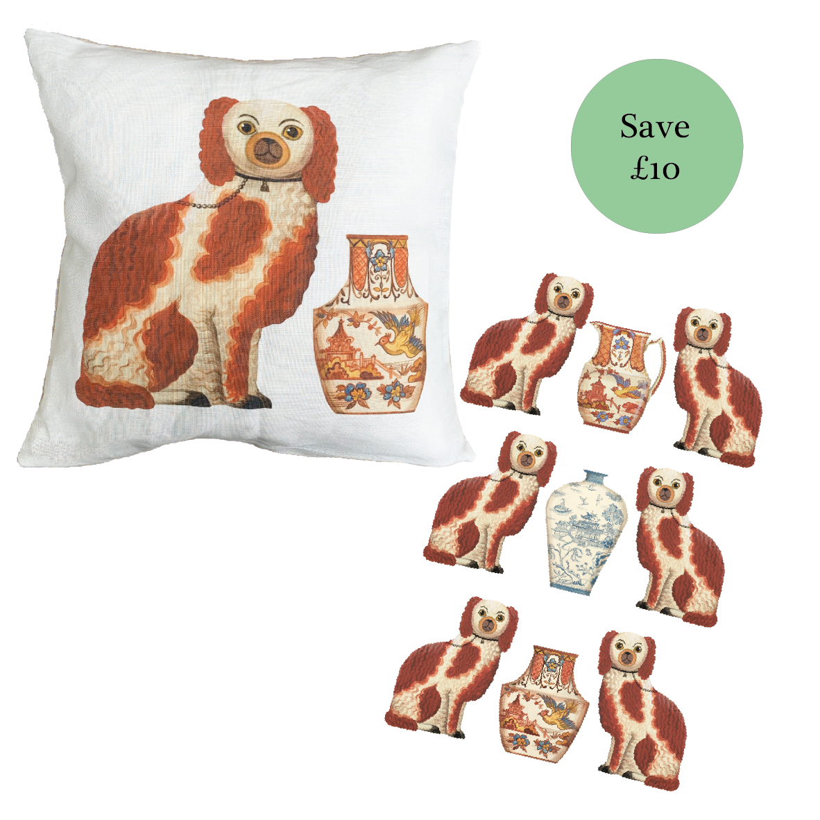 Staffordshire Spaniel collection of products by Dog & Dome