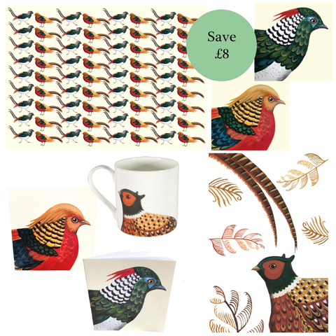 Fabulous Pheasant collection of products by Dog & Dome