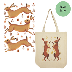 Hurrying Hares collection of products by Dog & Dome