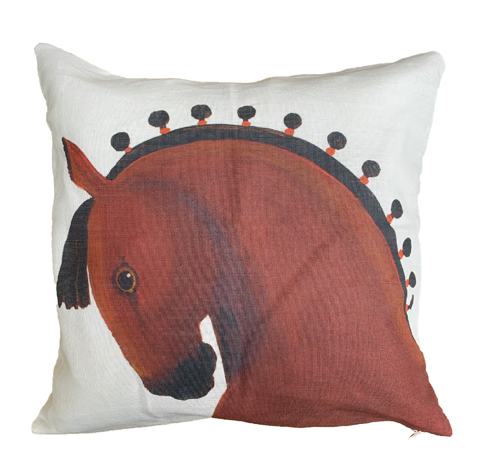Handsome Horse Cushion