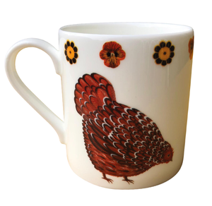 Keira & Claudia Clucking Dog & Dome Mug