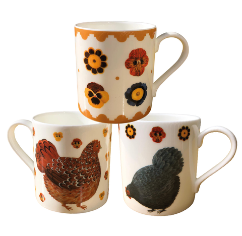 Arthur's Hens Dog & Dome Mug Bundle