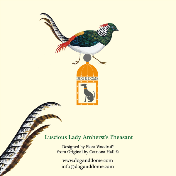 'Luscious Lady Amherst's Pheasant' Notebook