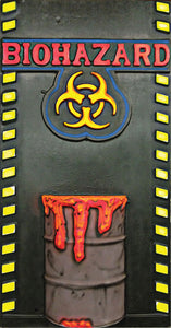 3D Biohazard Barrel 3D001