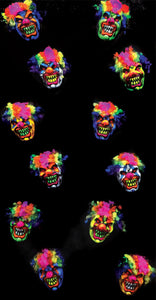 3D Clown Heads 3D006