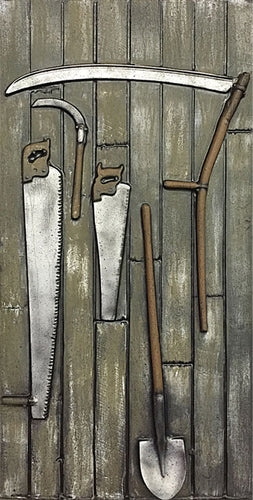 Barn Wall with Tools BB804
