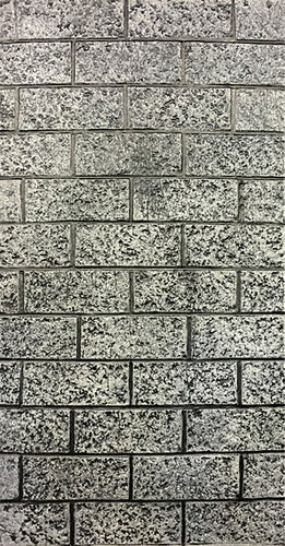 Cinder Block Wall RS515