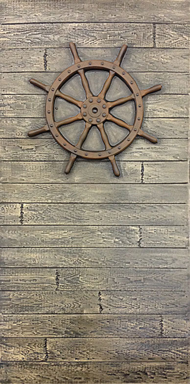 Driftwood Wall with Helm DW106