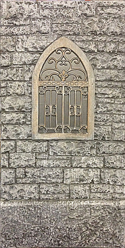 Gothic Castle Window GC103