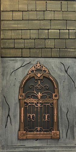 Mansion Gothic Window with Shingles ML605