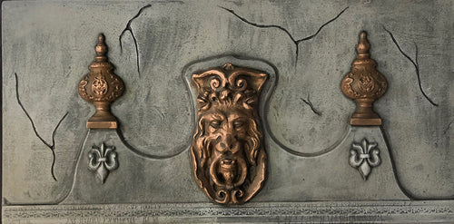 Mansion Gothic Lion Head Crown ML604