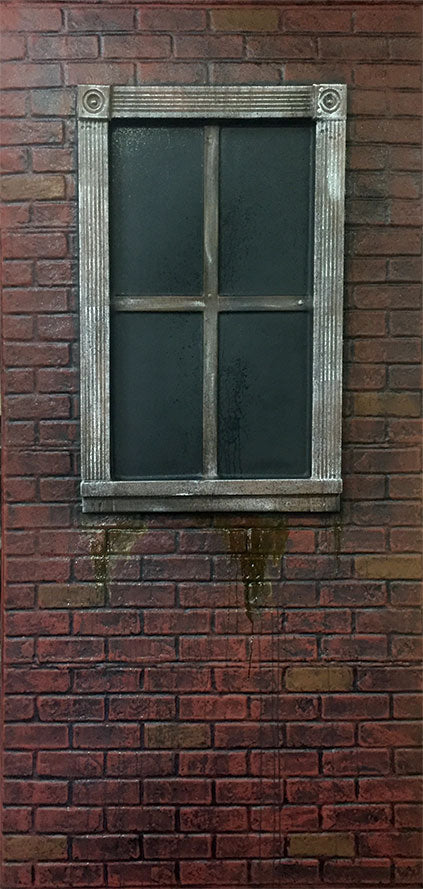 Red Brick with Window RS523