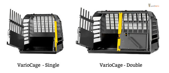 Variocage crate crash tested safest crate for dogs in a car
