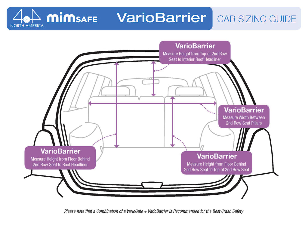 MIM Safe VarioBarrier vehicle measuring guide