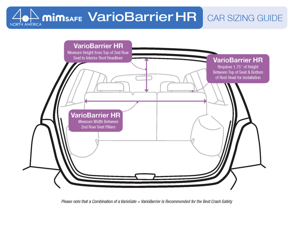 MIM Safe VarioBarrier HR vehicle measuring guide