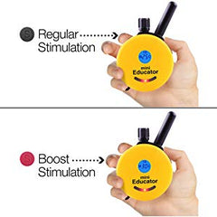 e-collar boost stimulation training options diagram